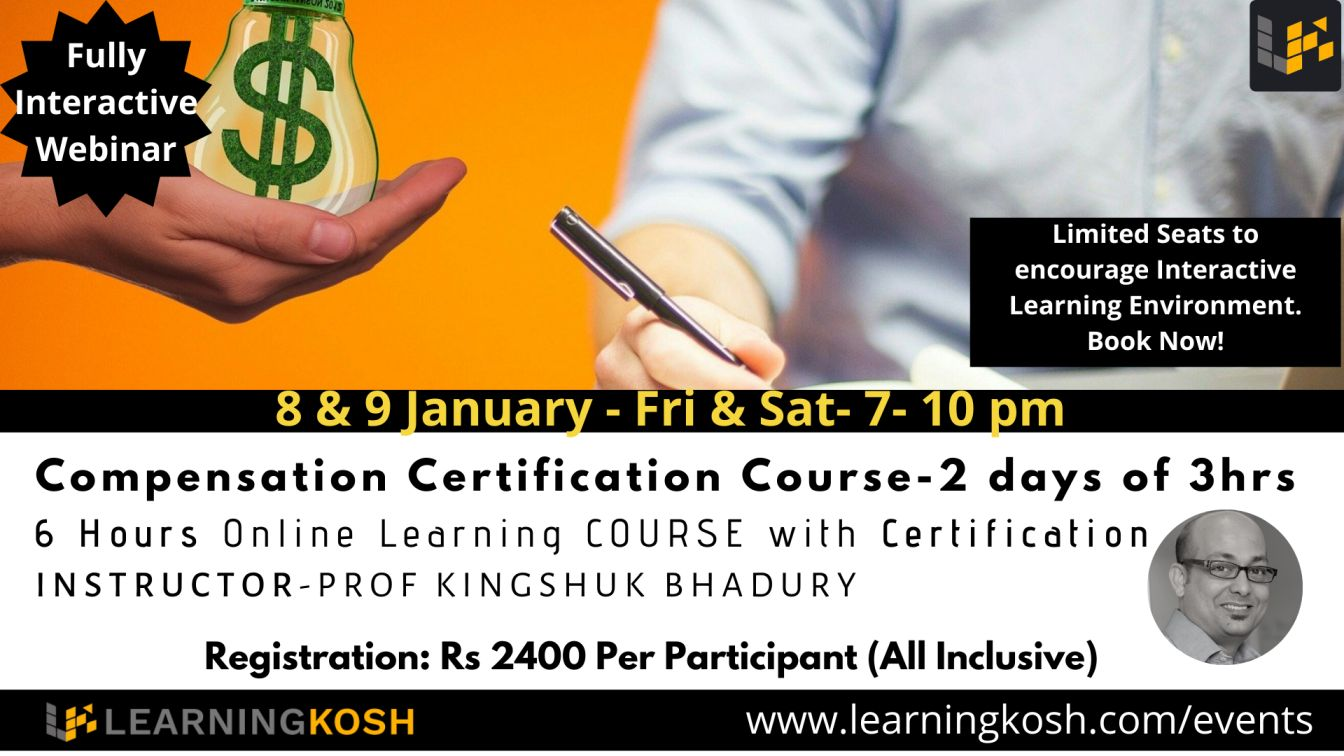 Compensation Certification Course- LearningKosh