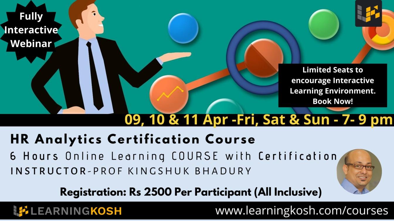 Best HR Analytics Certification Course India