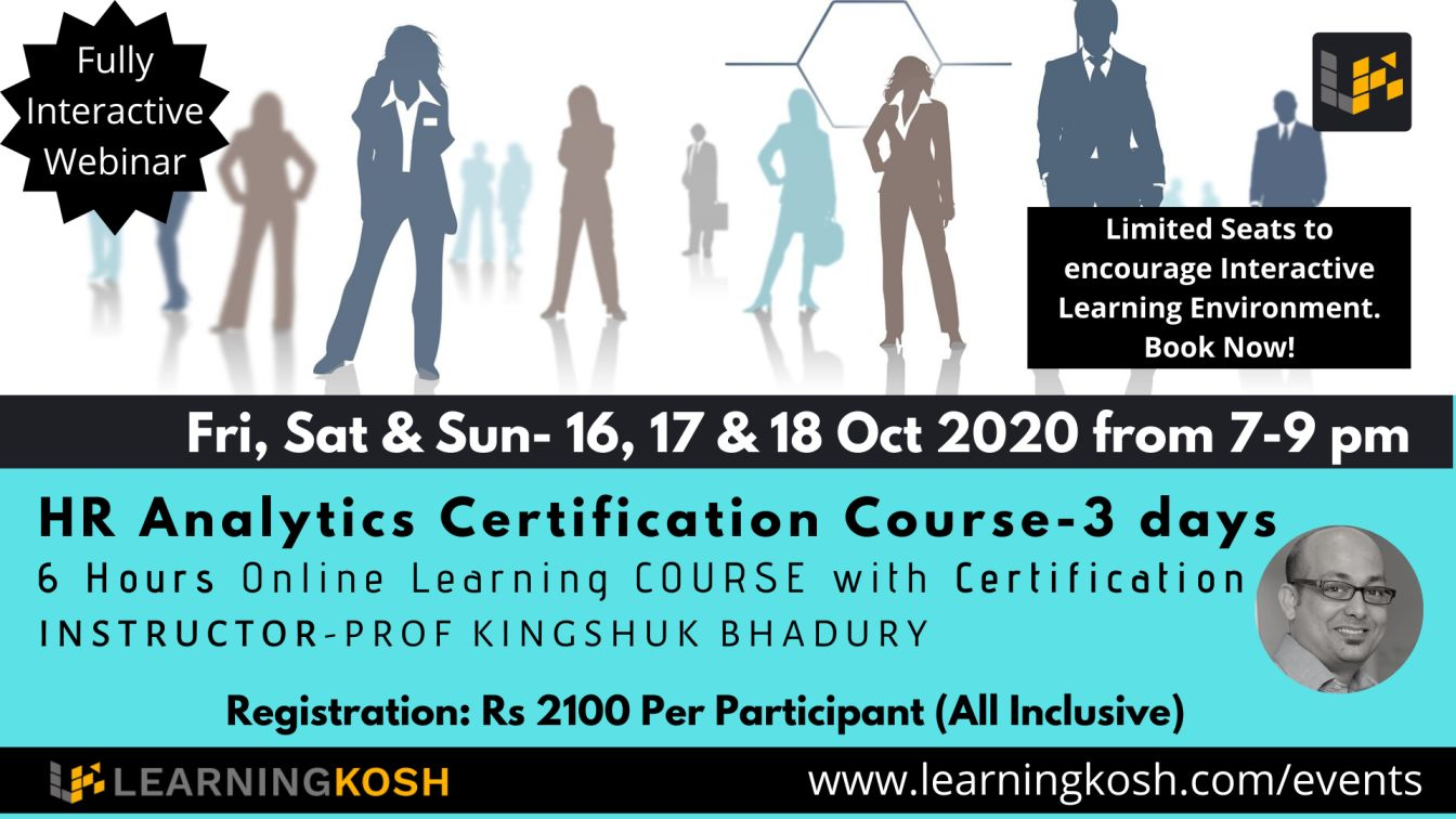 HR Analytics Certification Course- LearningKosh