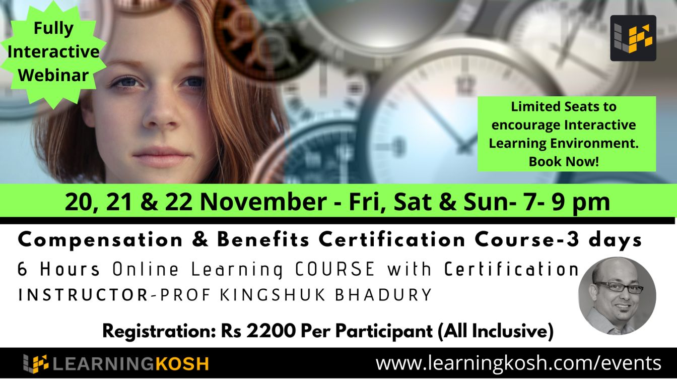 Compensation Certification Course LearningKosh