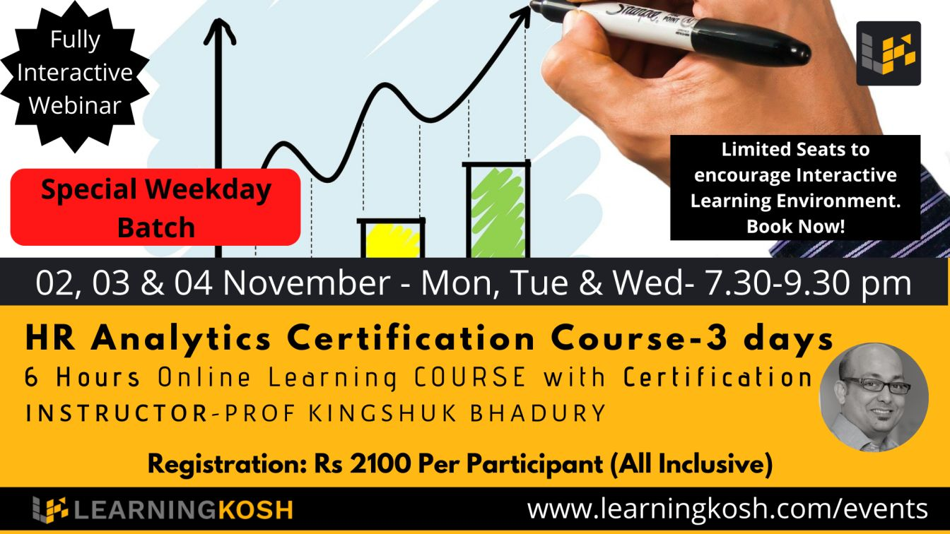 HR analytics Weekday Batch- LearningKosh